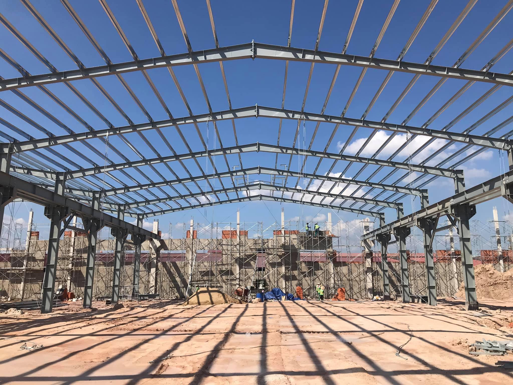 Lợi ích của việc xây nhà xưởng bằng kết cấu thép